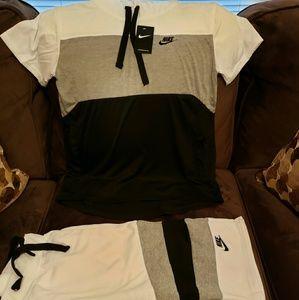 Nike Mens Short Set